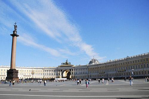 La plaza del Palacio