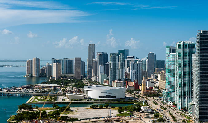 Los rascacielos de Miami