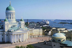 La plaza principal de Helsinki
