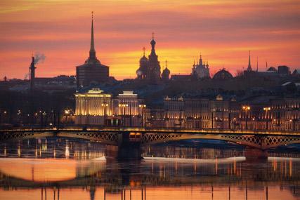 Las noches blancas de San Petersburgo