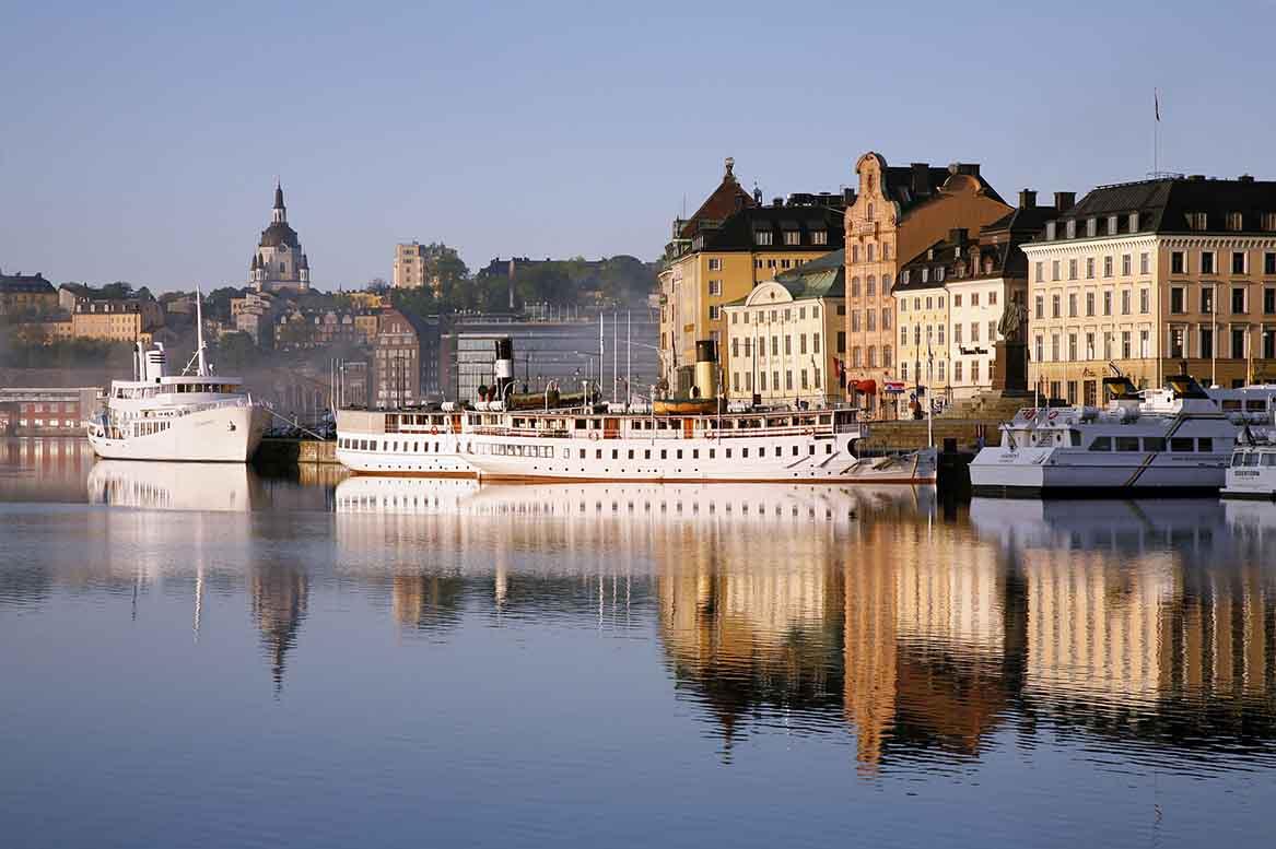 Vistas desde el barco Riga-Estocolmo