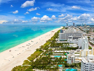 Las playas de Miami