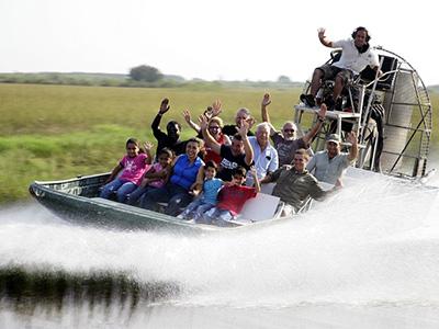 Paseo en barco. Everglades