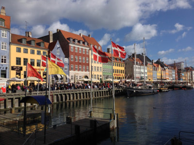 Copenhague desde el mar