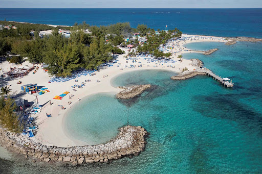 La isla privada de CocoCay