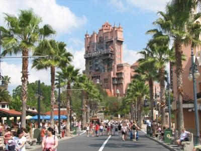 Disney World, La zona de The Twilight.