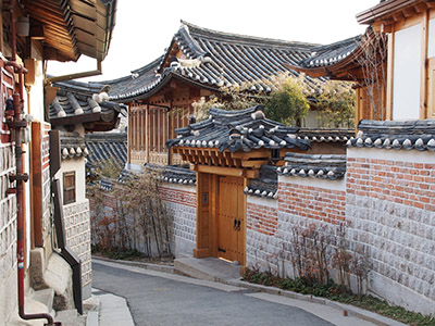 Casas tradicionales, Seúl
