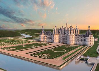Castillo y jardines de Chambord