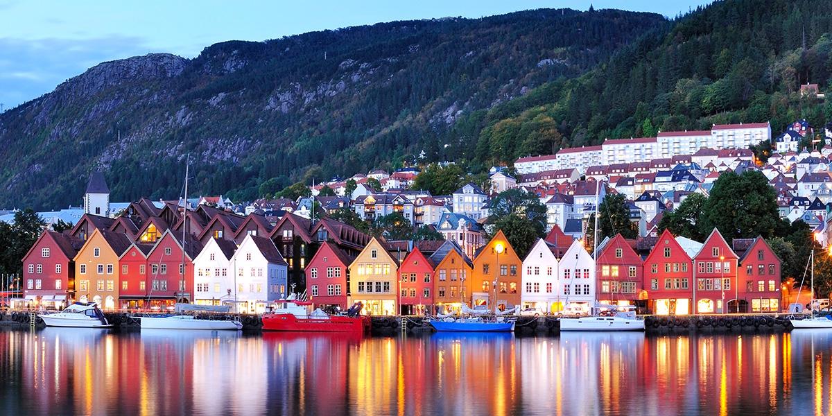 Bergen noche