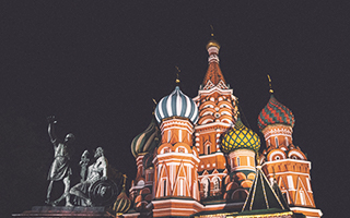 Visita nocturna a Moscú