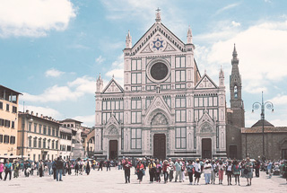Piazza de la Santa Croce, Florencia