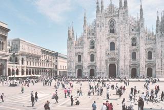 Plaza del Duomo, Milán