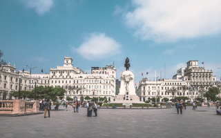 Plaza San Martín, Lima