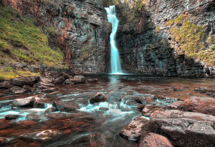 Lealt Falls, Isla Skye