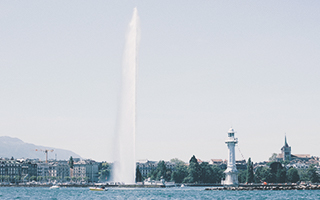 Le Jet d'Eau, Ginebra