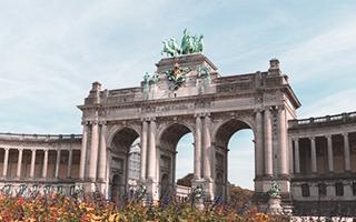 Parque del Cincuentenario, Bruselas
