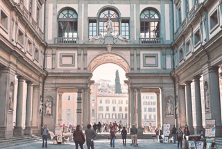Galería Uffizi, Florencia