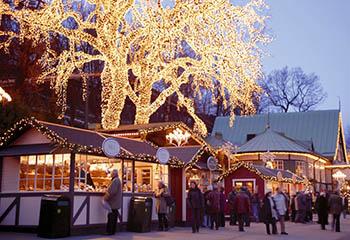 Mercadito navideño Copenhague