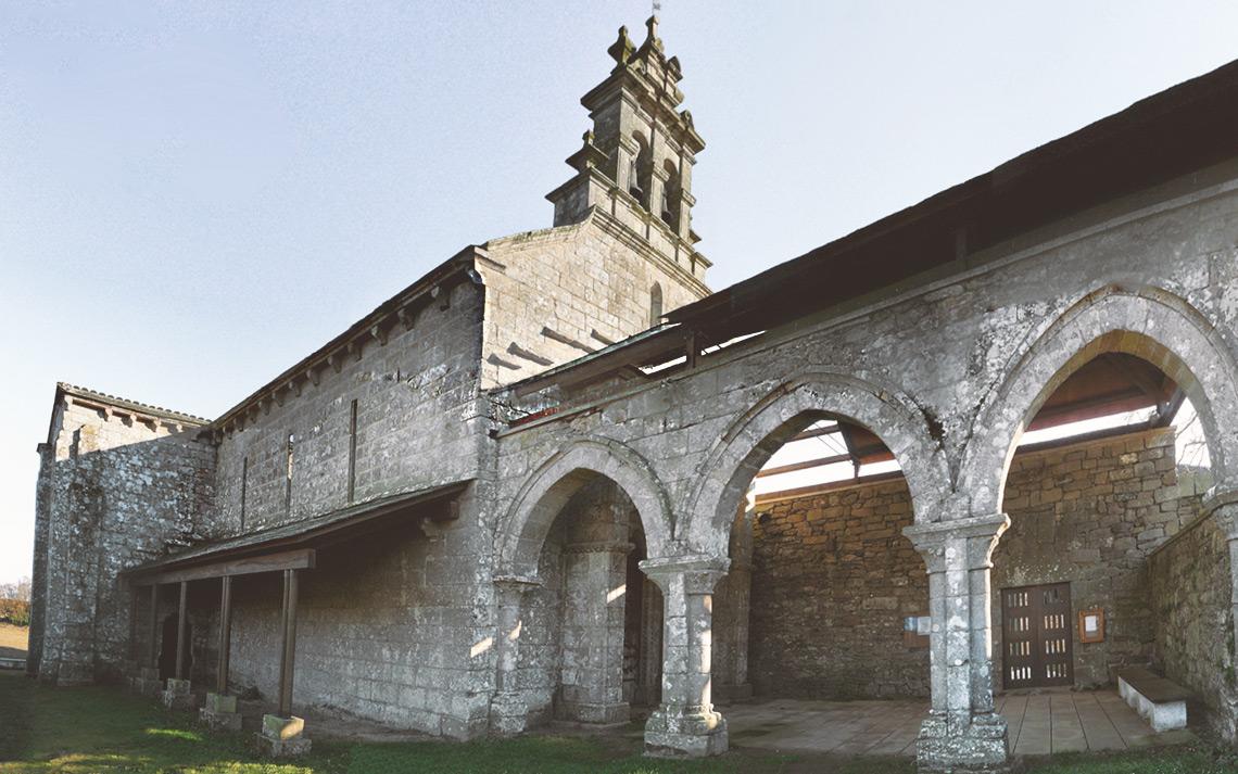Monasterio de San Salvador de Vilar de Donas