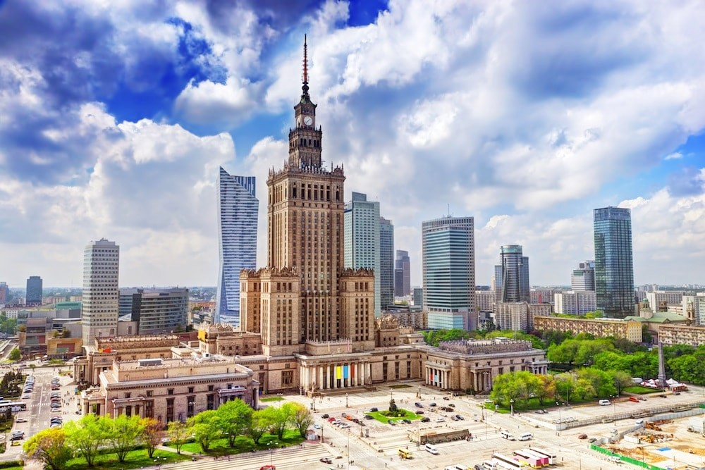 Palacio de Cultura y Ciencia, Varsovia