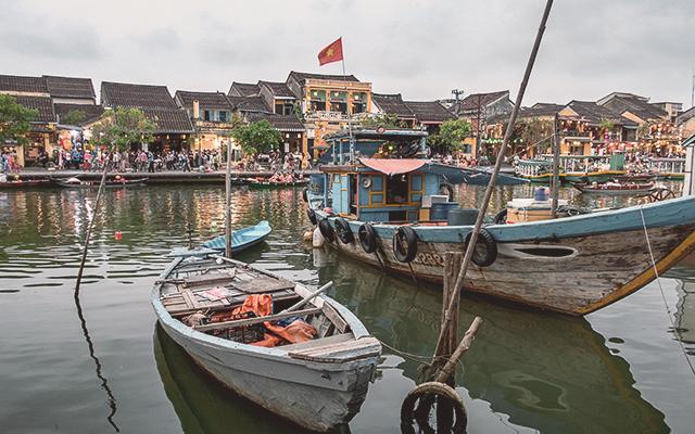 Centro de la ciudad antigua de Hoi An