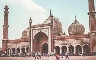 Jama Masjid, Vieja Delhi