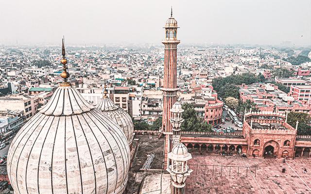 Vista de la Ciudad, Delhi